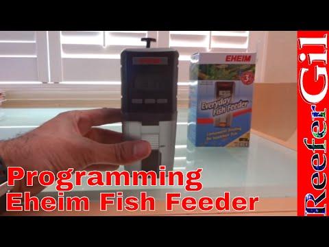 eheim everyday automatic fish feeder instructions