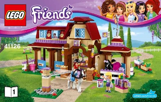 lego friends animal set instructions