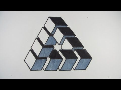 impossible cube to impossible triangle instructions