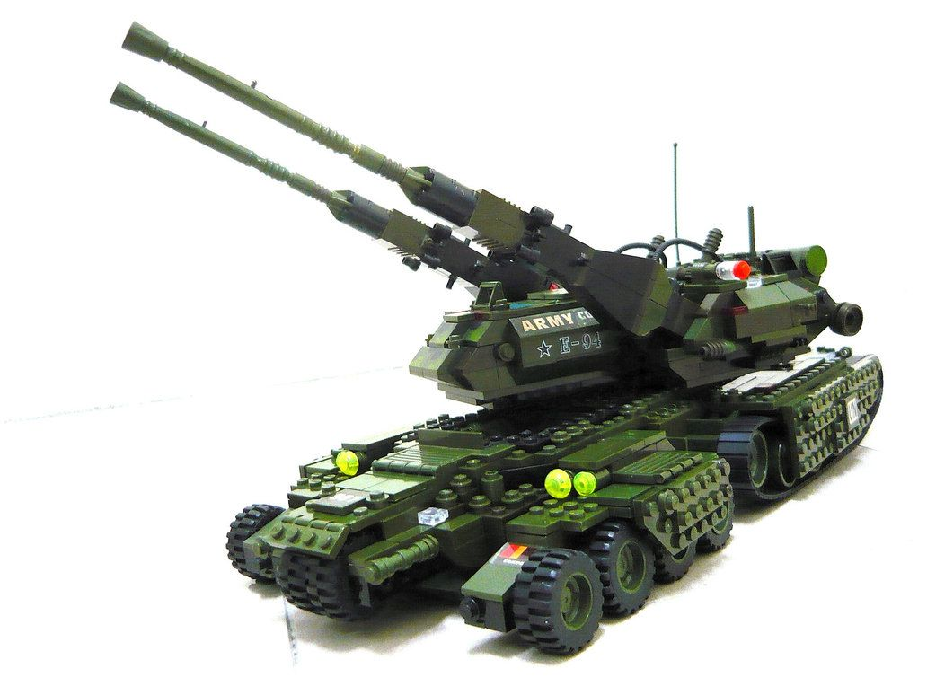 legi tank instructions lego