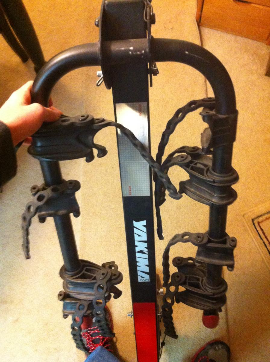 yakima king cobra bike rack instructions