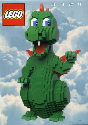 lego dragon instructions 3724