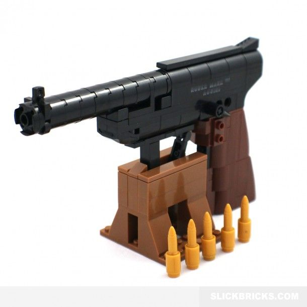 lego gun instructions videos