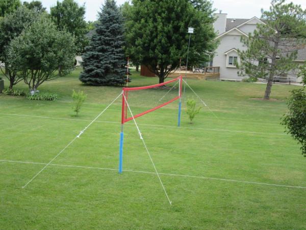 quest volleyball net setup instructions