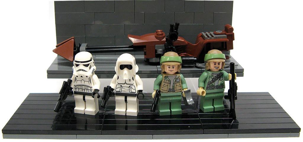 lego endor battle pack instructions