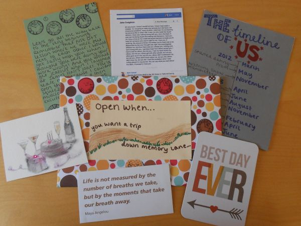pinterest gifts for her open envelopes instructions