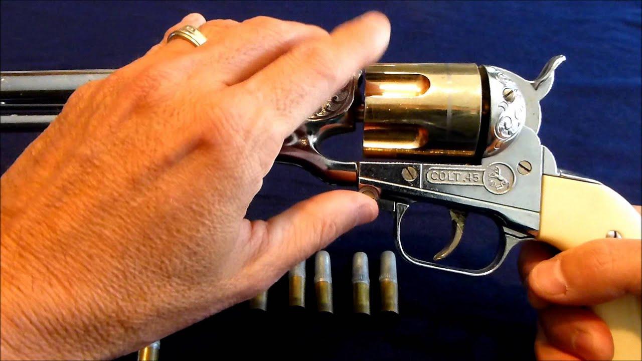 legends of the wild west cap guns instructions