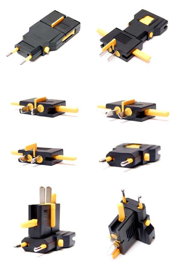 kikkerland ul03-a universal travel adapter instructions