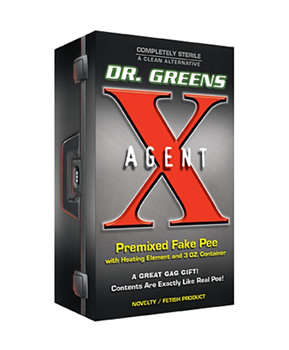 dr greens agent x synthetic urine instructions