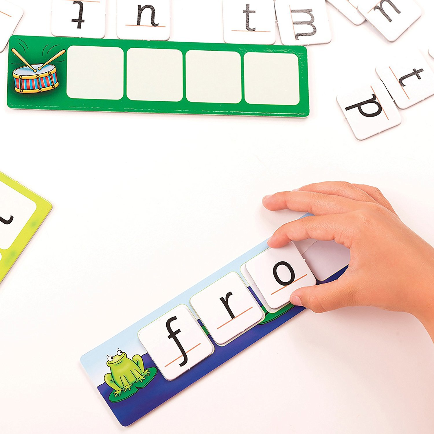 orchard toys match and spell instructions