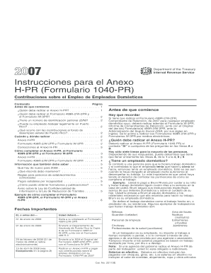 2007 irs form 1040 instructions