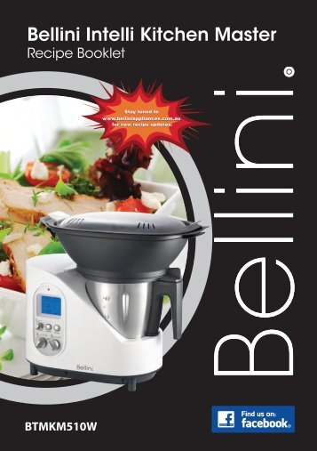bellini kitchen master instruction manual