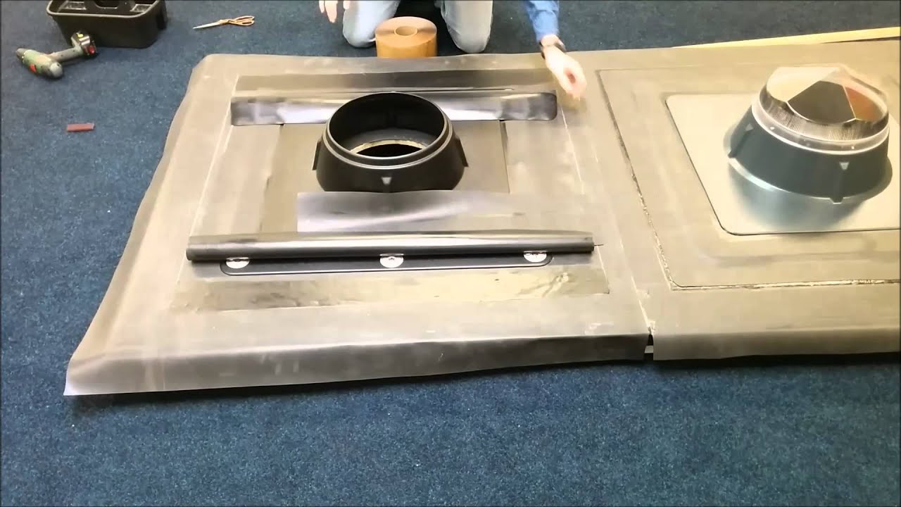 utube instructional vidieo instalation of epdm rubber roofing