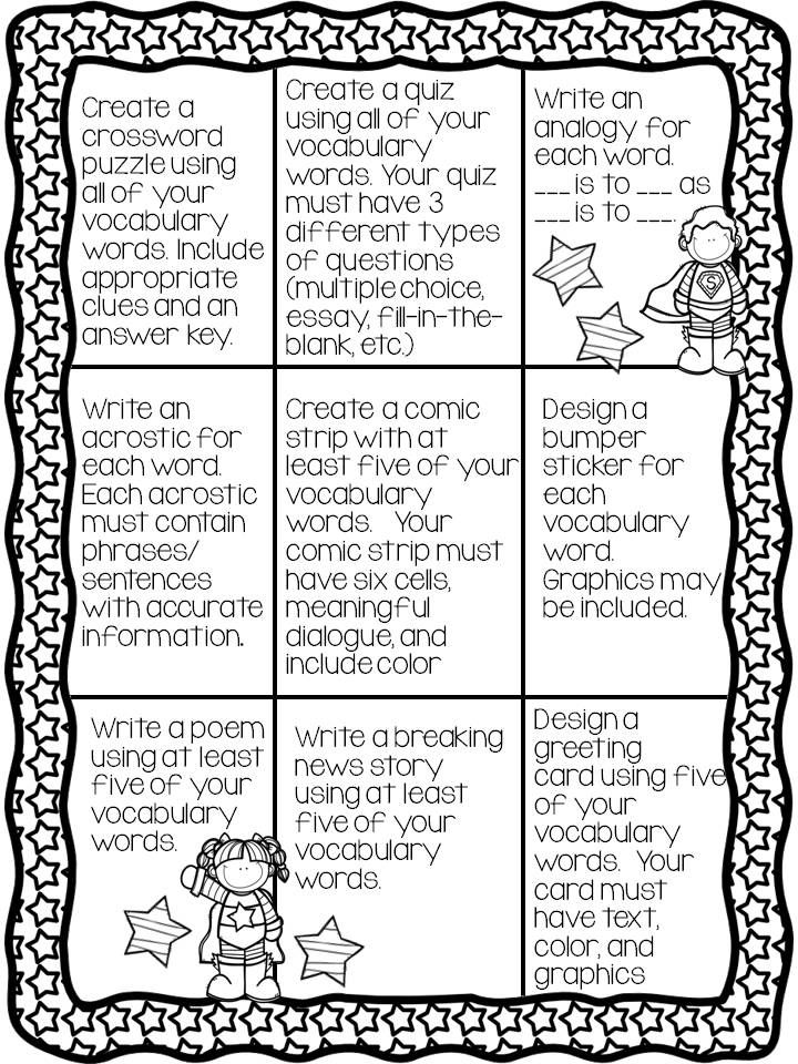 list of instructional strategies for elementary language arts