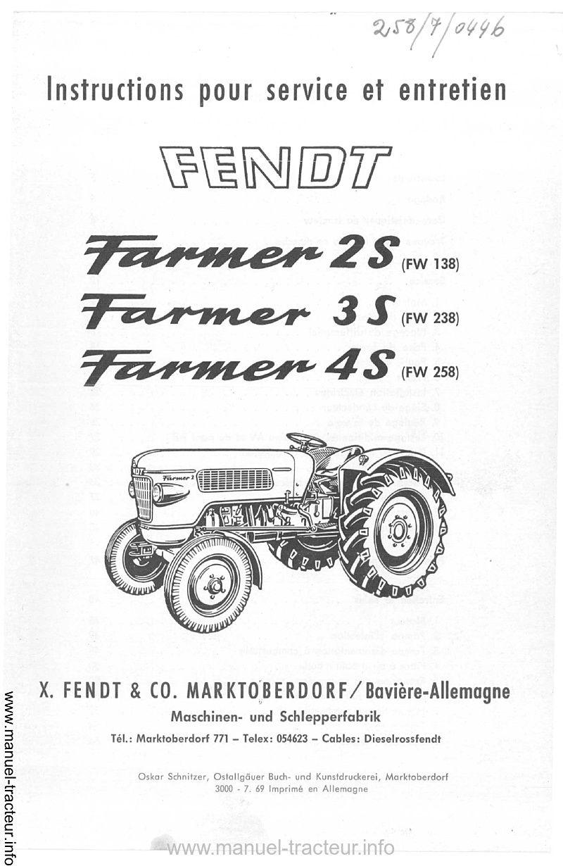 manuel instruction tracteur universal 703 dt