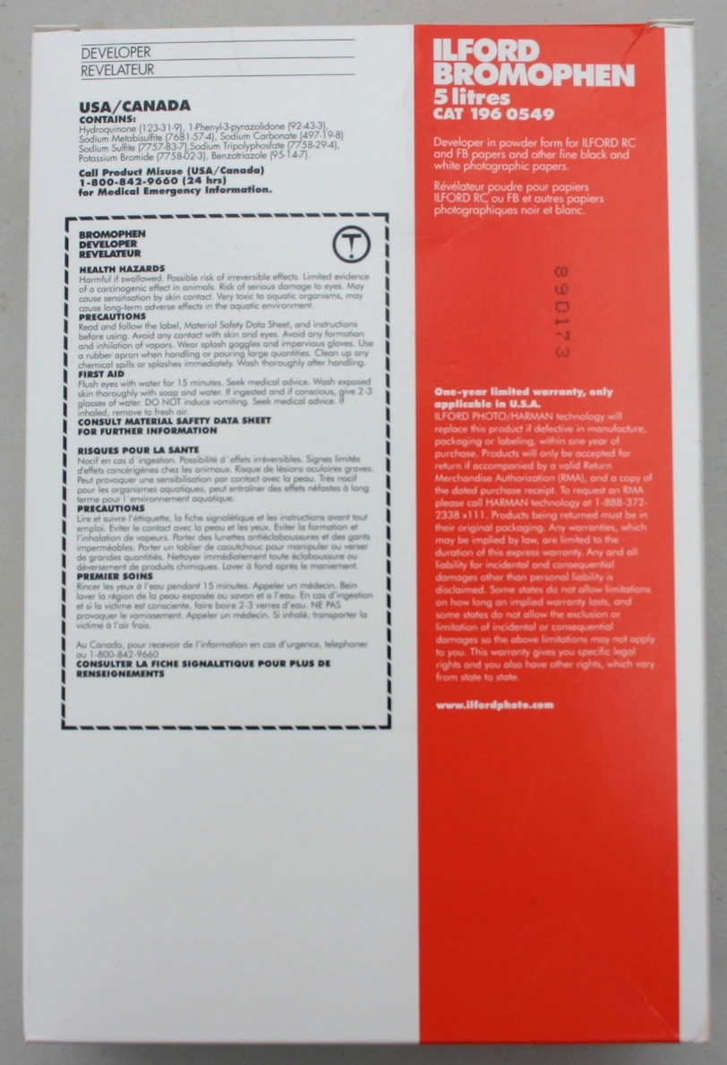 ilford multigrade paper developer instructions