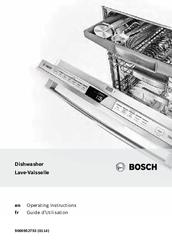 bosch dishwasher series 6 installation instructions