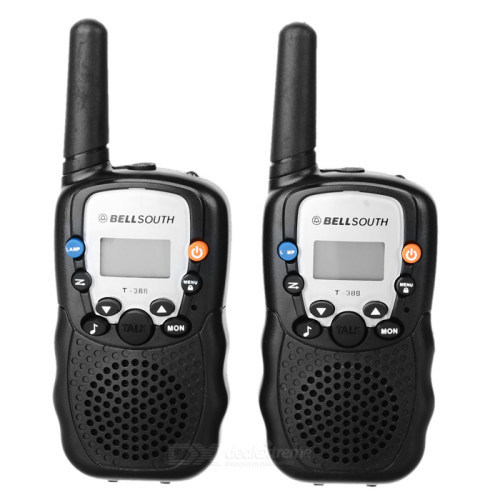 bellsouth walkie talkie instructions