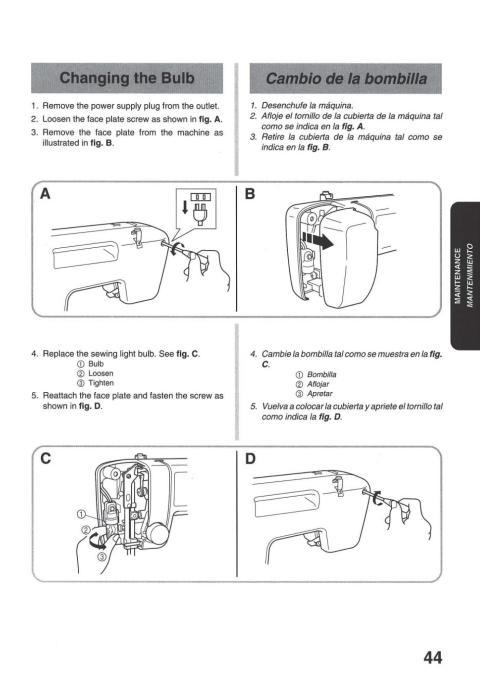 sewland overlock machine instruction manual