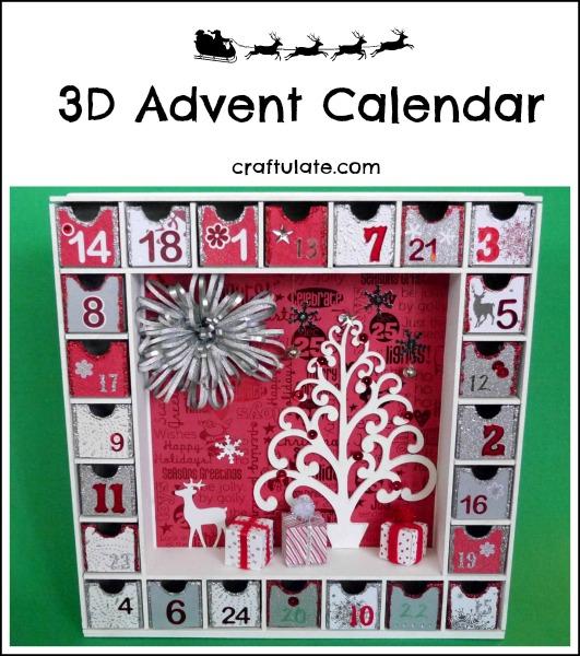 kaisercraft advent calendar kit instructions