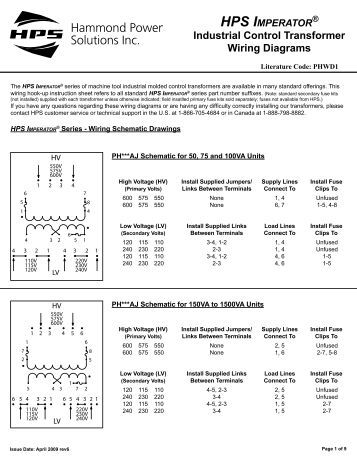 hps imperator wiring instructions