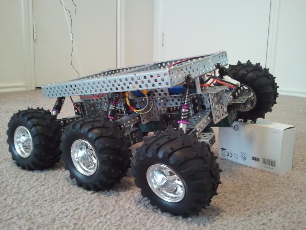 vex robotics car instructions