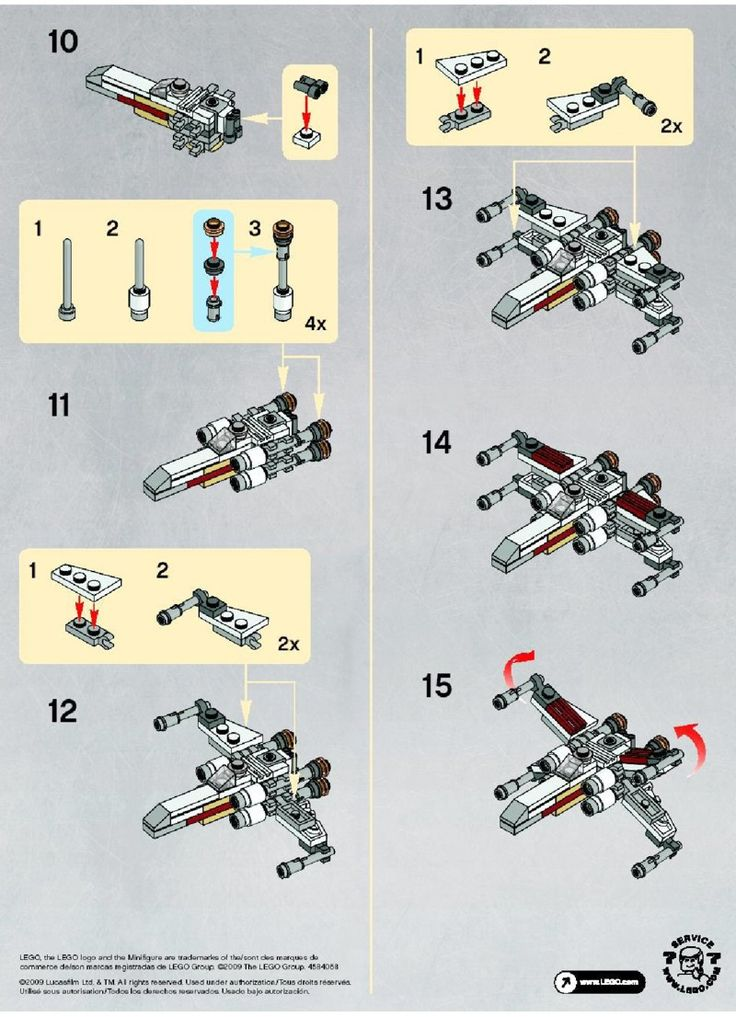 lego 10211 building instructions