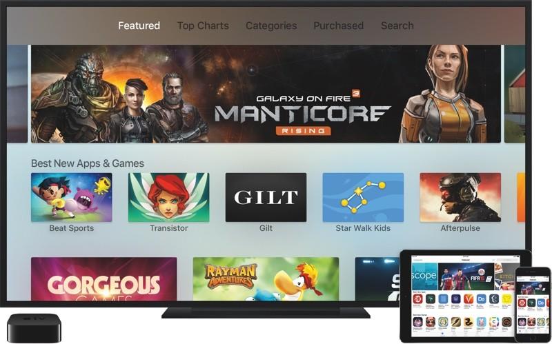 apple tv instruction francais