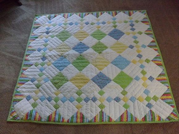 diamond patch quilt instructions