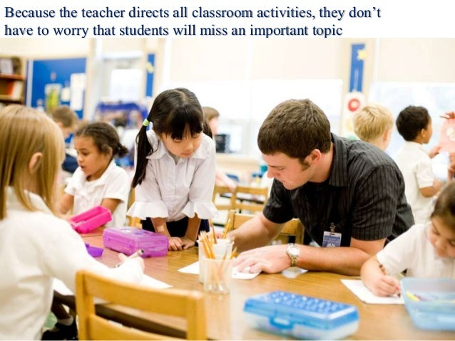 disadvantages of direct instruction in the classroom