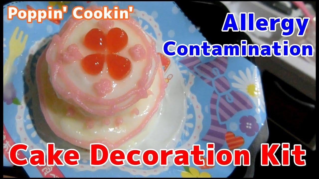 kracie happy kitchen cake english instructions