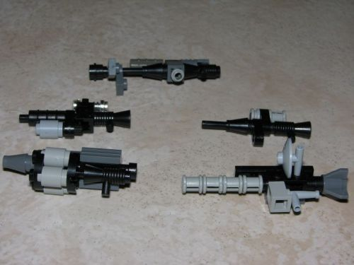 lego minifig weapons instructions