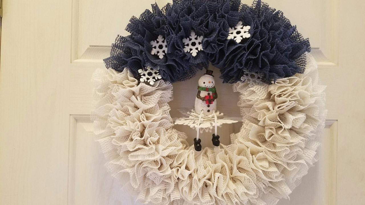 instructions for shelf liner wreath