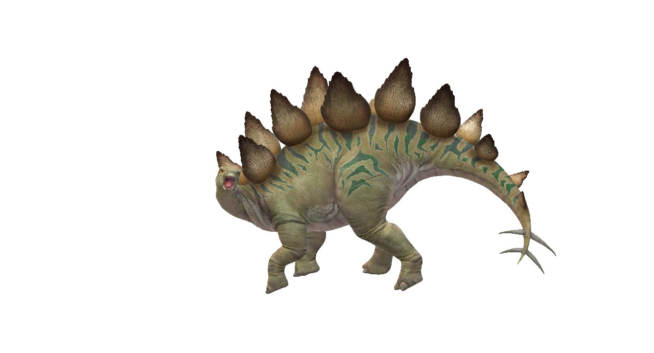 3d anatomy model triceratops instructions