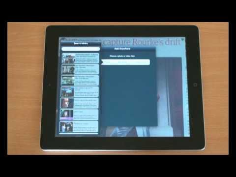 how to make instructional videos on ipad