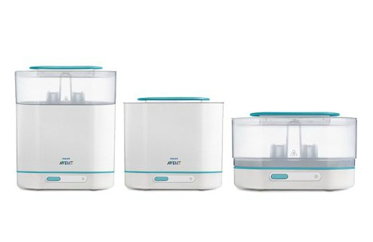 avent sterilizer 2 in 1 instructions