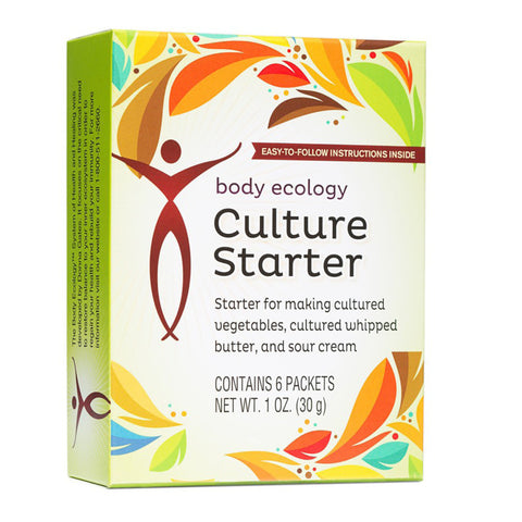 body ecology culture starter instructions