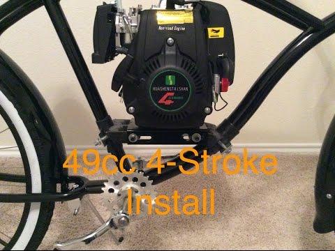 bike engine kit installation instructions