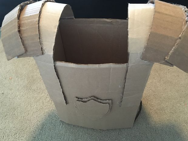 cardboard samurai armor instructions