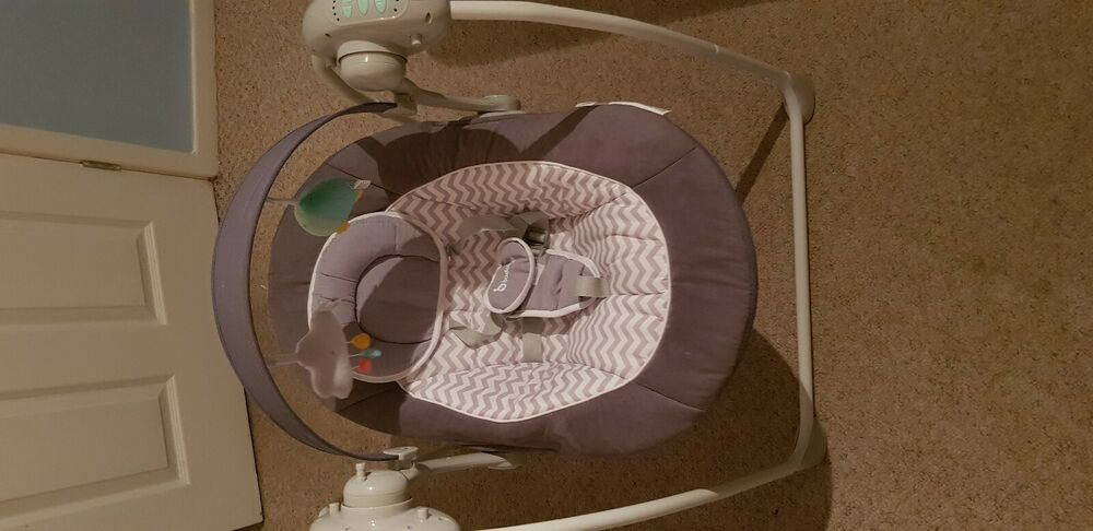 graco ziggy zebra swing instructions