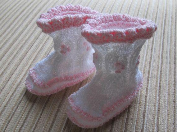 darn yarn booties instructions