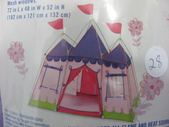discovery princess tent instructions