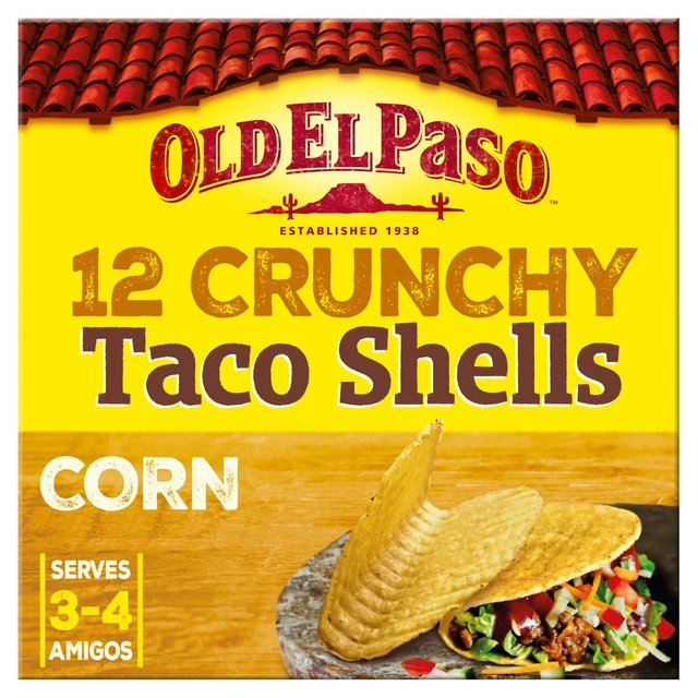 old el paso hard taco kit instructions