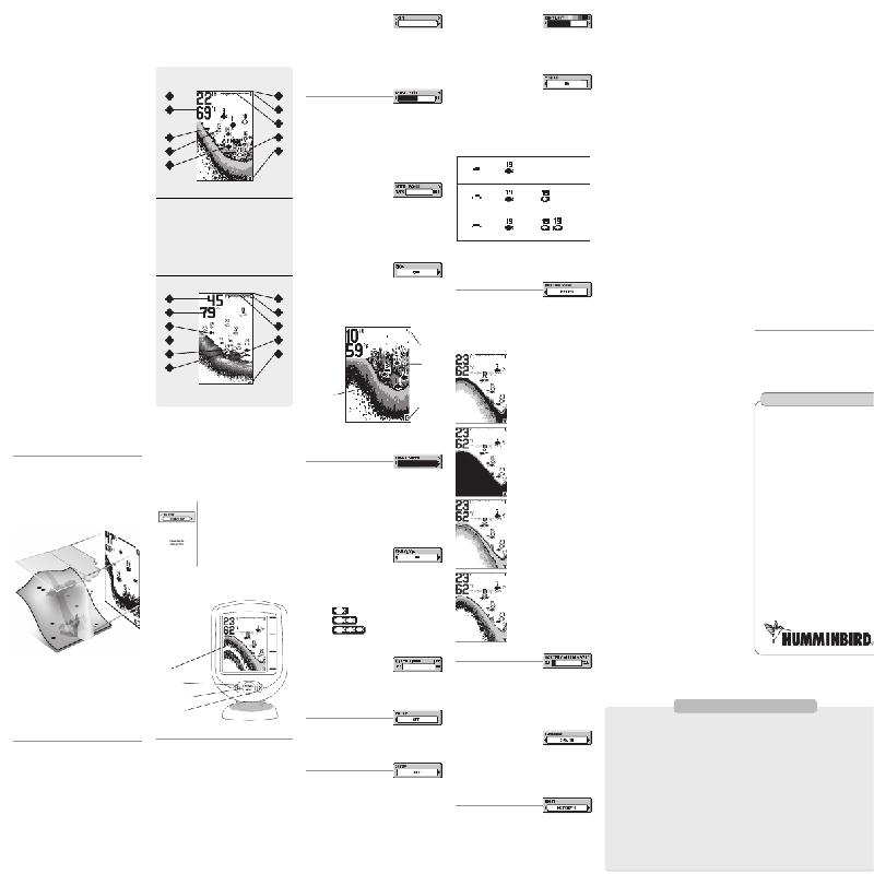 humminbird piranhamax 220 instruction manual