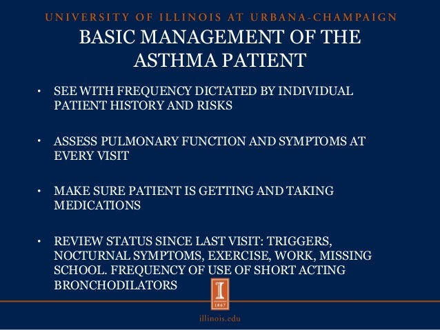 instructions patients asthma therapy prior to pulmonary function test