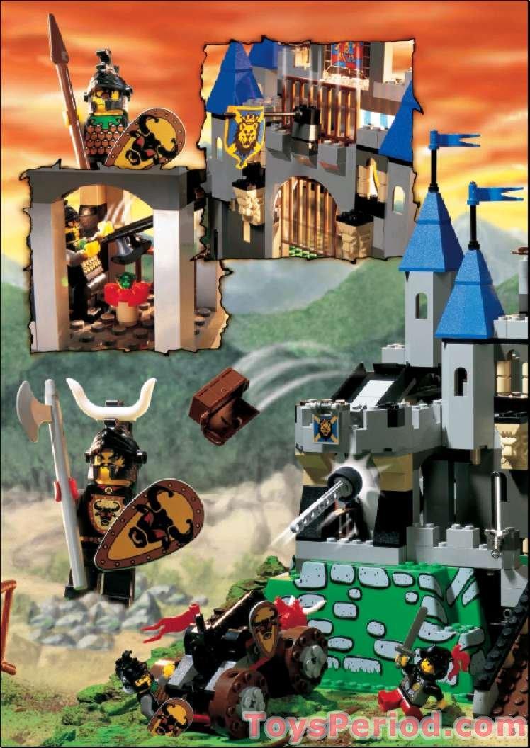 lego kingdoms sets instructions