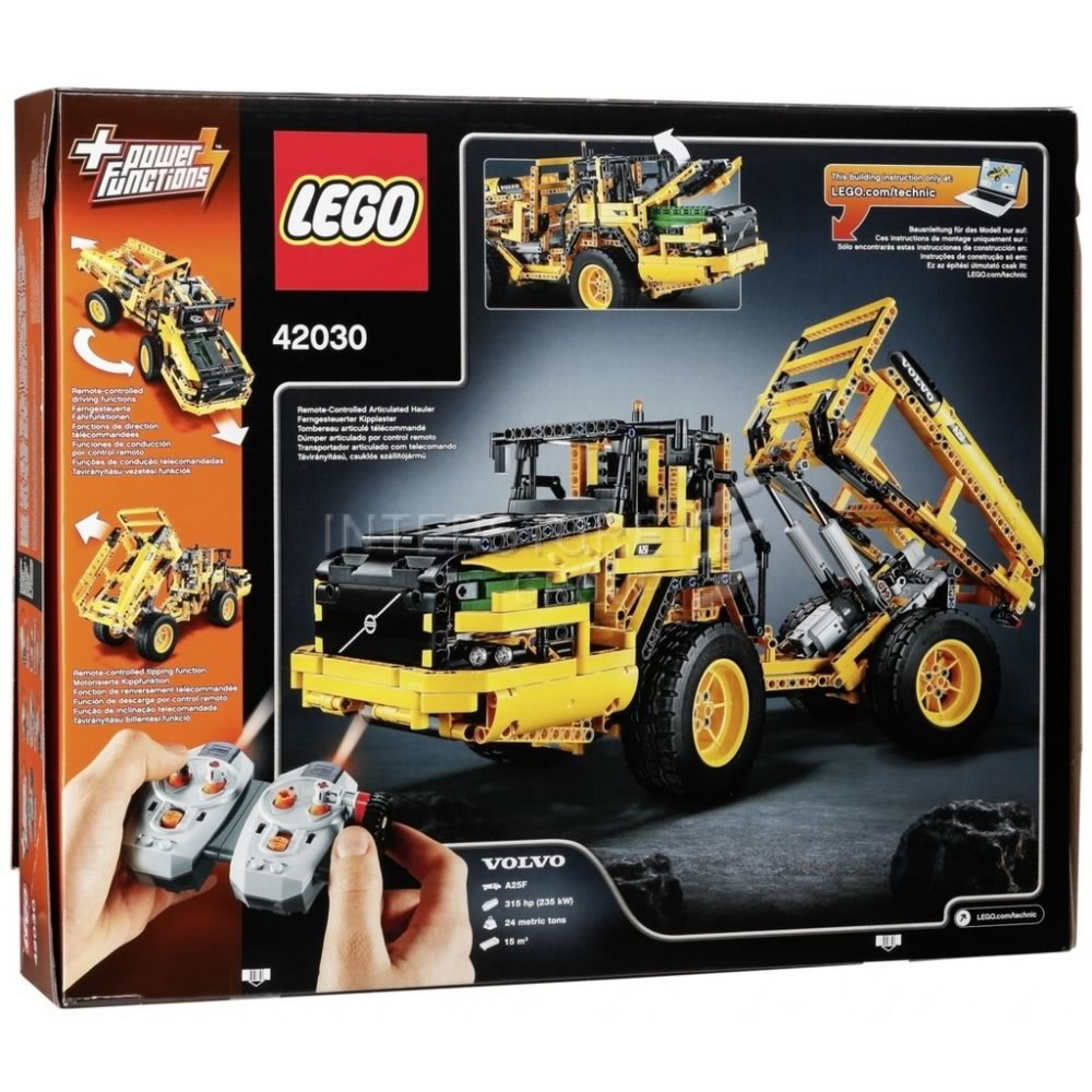 lego volvo l350f instructions