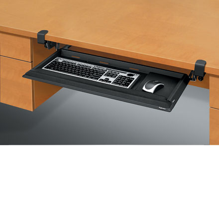 fellowes office suites underdesk keyboard drawer instructions