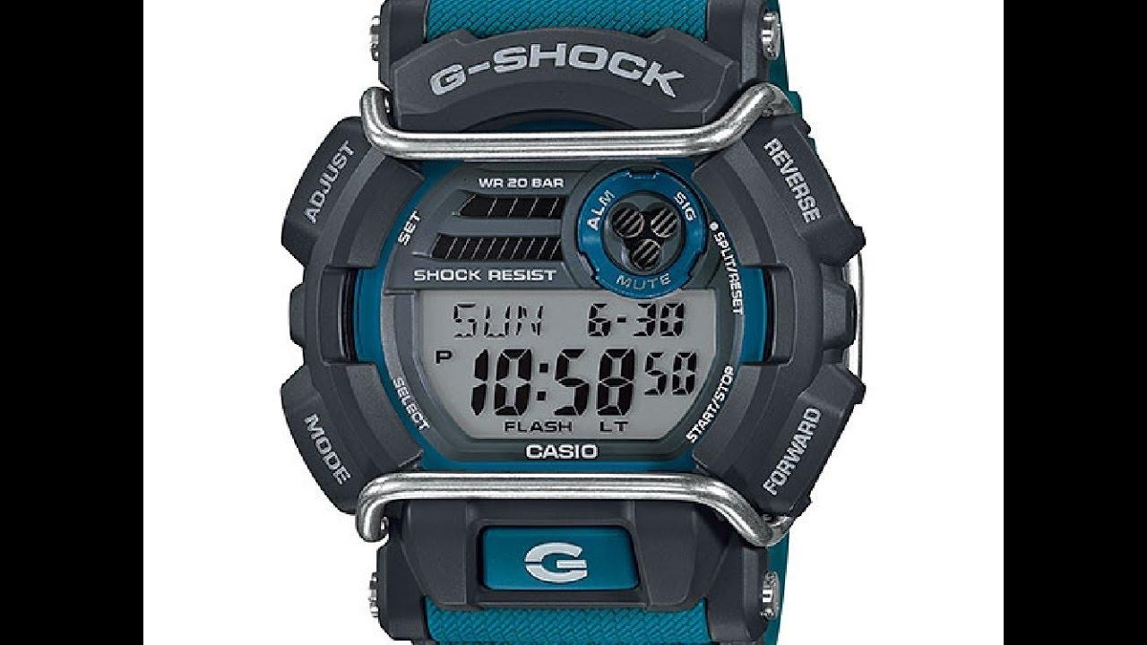 g shock instructions 3434