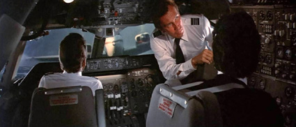 hilarious flight attendant gives instructions before take-off
